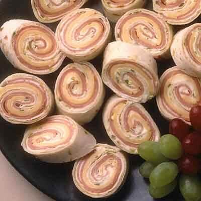 Ham & Cheese Spirals Image