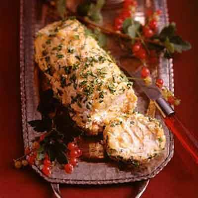 Toasted Onion Cheese Log Image