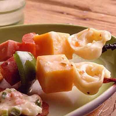 Cheese & Tortellini Kabobs Image