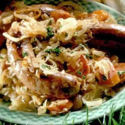 Sauerkraut & Brats Image