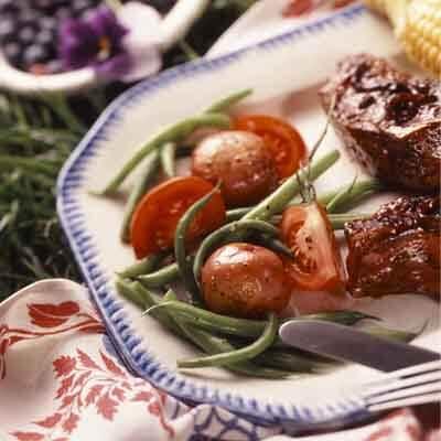 Potato, Green Bean & Tomato Salad Image