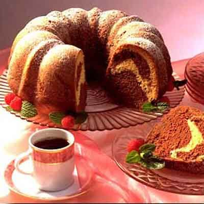 Chocolate Swirl Sour Cream Pound Cake Image