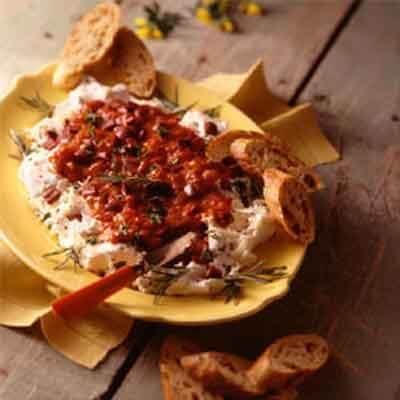 Pepper, Olive & Cheese Spread Image