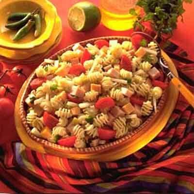 Turkey Pasta Salad With Chile Lime Vinaigrette Image