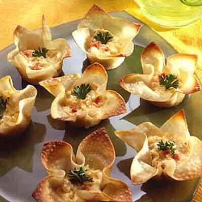Cheesy Artichoke Tarts Image