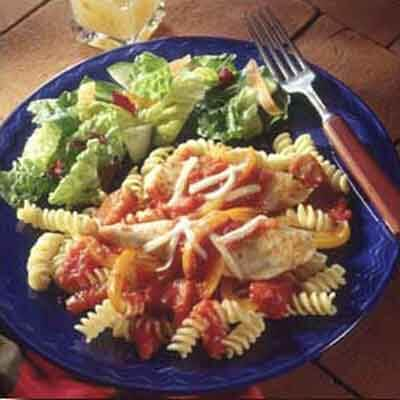 Pepper Chicken and Pasta Recipes