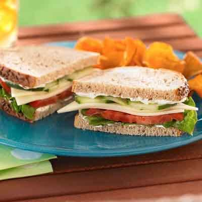 Cucumber & Rye Sandwich Image