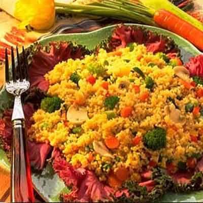 Buttery Veggie Couscous Image