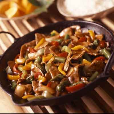 Beef & Asparagus Stir-Fry Image