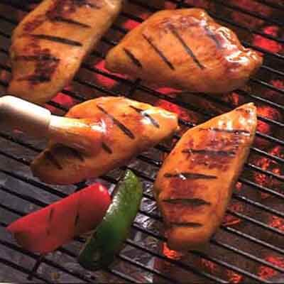 Plum Barbecued Chicken Image