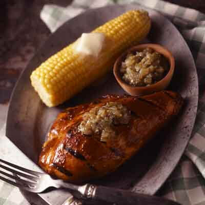 Hickory Chicken With Salsa Image