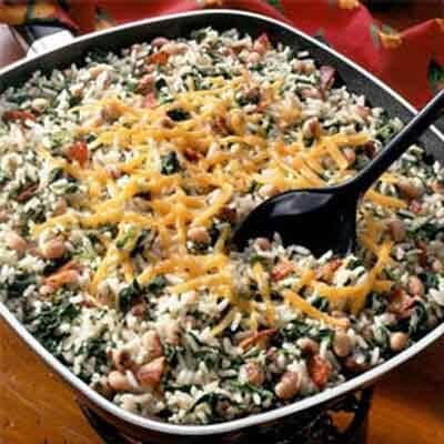 One-Dish Rice & Black-Eyed Peas Image