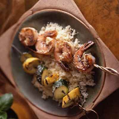 Pesto Shrimp Brochette Image