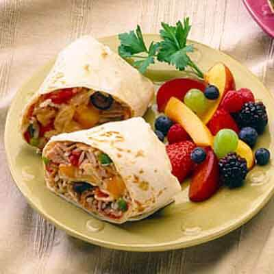 Chicken & Cheese Wraps Image