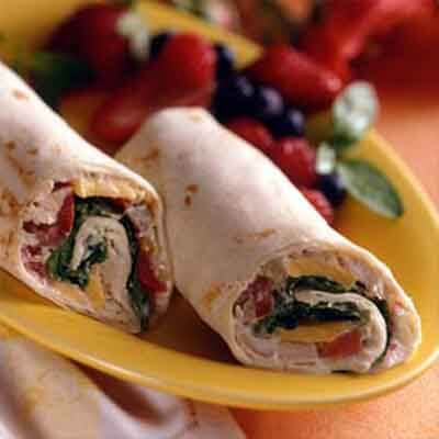 Chicken Salad Wraps Image