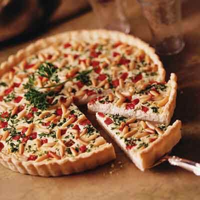 Blue Cheese Appetizer Tart Image
