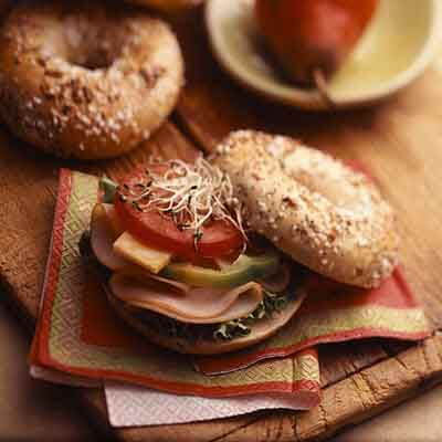 Lunchtime Bagelwich Image