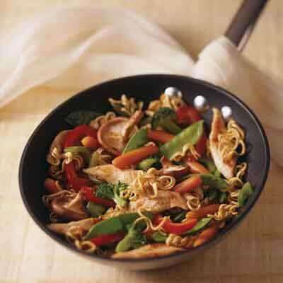 Asian Noodle Chicken Stir-Fry