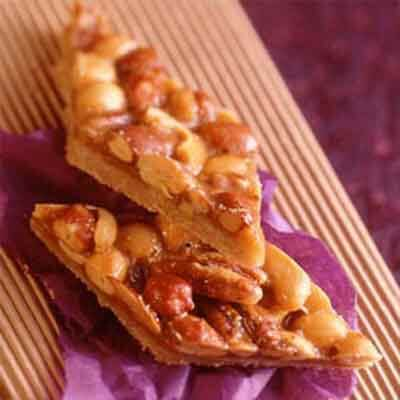 Salted Nut Bars Image