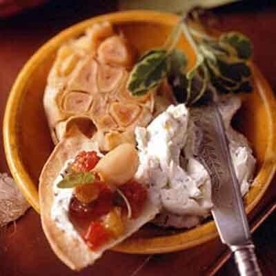 Chutney, Cheese & Garlic Tortillas Image