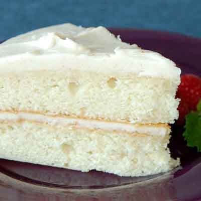 Frosted Butter Cake Recipe
