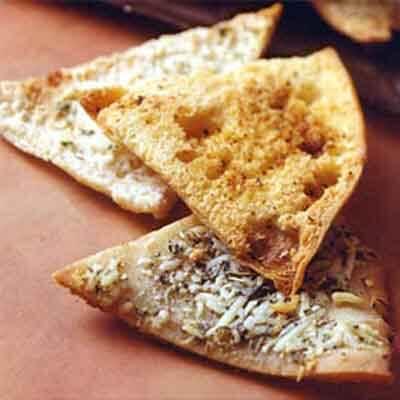 Seasoned Party Pita Chips Image