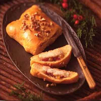Pastry Wrapped Cheese & Chutney Image