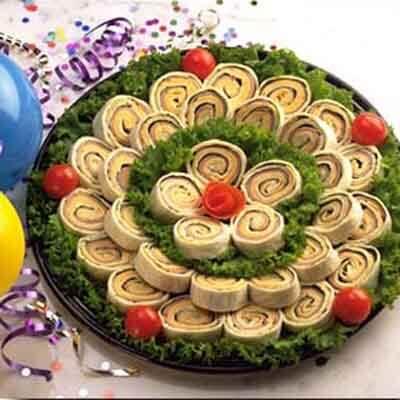 Turkey & Cheese Mini-Wraps Image