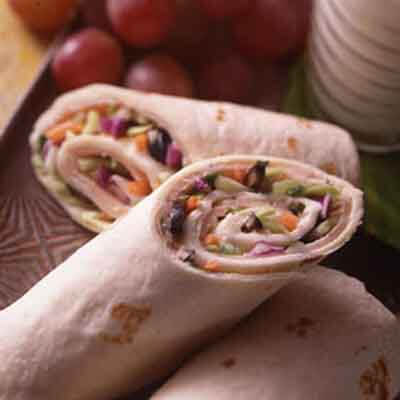 Turkey Tortilla Roll-Ups Image