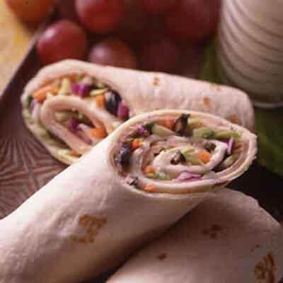 Turkey Tortilla Roll-Ups Image