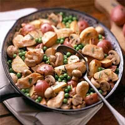 Rosemary Chicken & Garden Vegetables Image