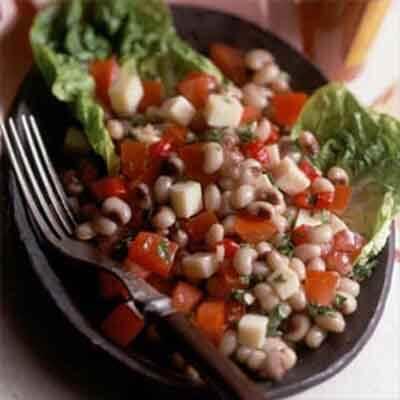 Cajun Black-Eyed Pea & Pimiento Salad Image
