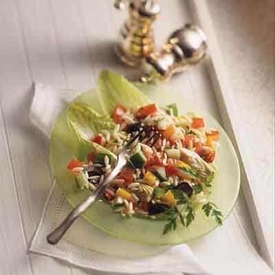 Mediterranean Lemon Pasta Salad Image