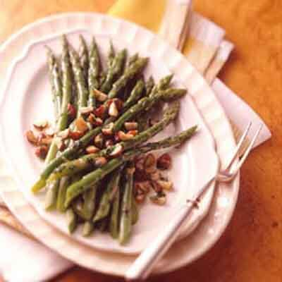 Asparagus With Toasted Hazelnut Butter Image