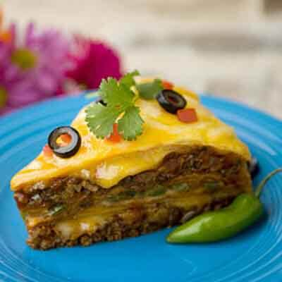 Layered Tortilla Pie Image