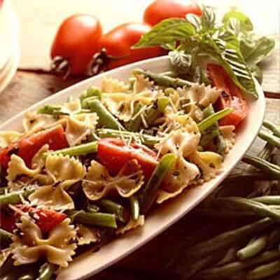 Bow Tie Pasta & Beans Image