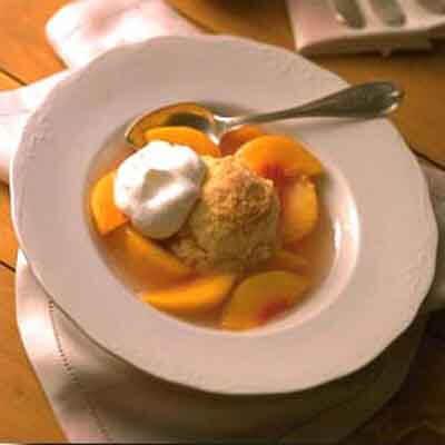 Quick Peach Cobbler Image