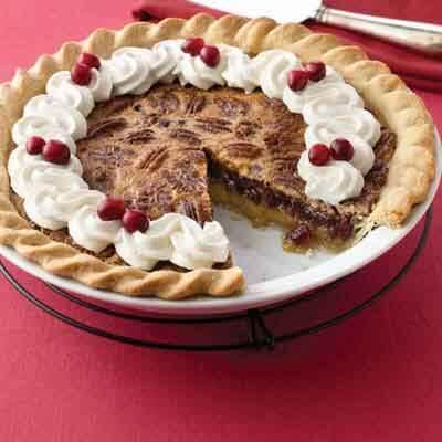 Cranberry Pecan Pie Image