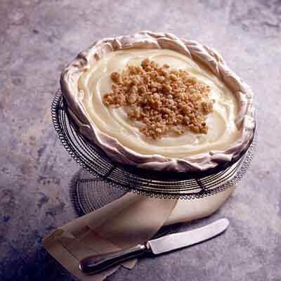 Lemon Upside Down Pie (Gluten-Free Recipe) Image