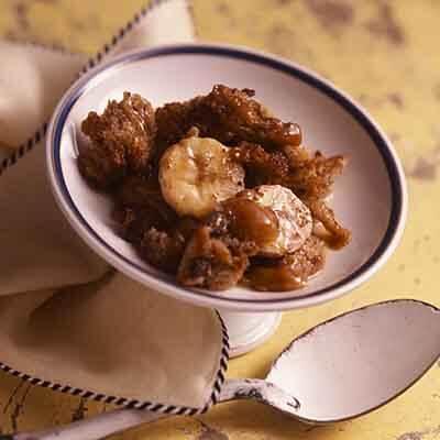 Banana Caramel Bread Pudding Image