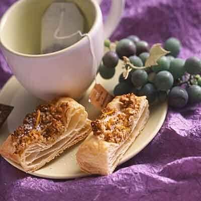 Orange Pecan Pastry Slices Image