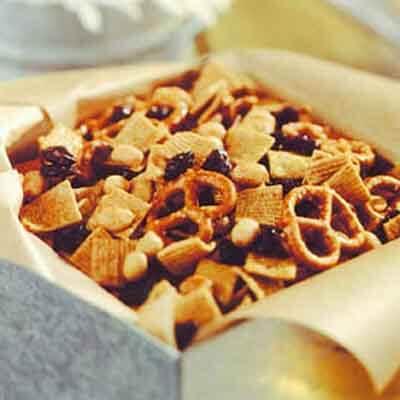 Golden Glazed Snack Crunch Image