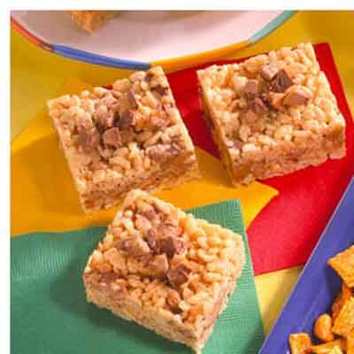 Candy Bar Crispy Treats Image