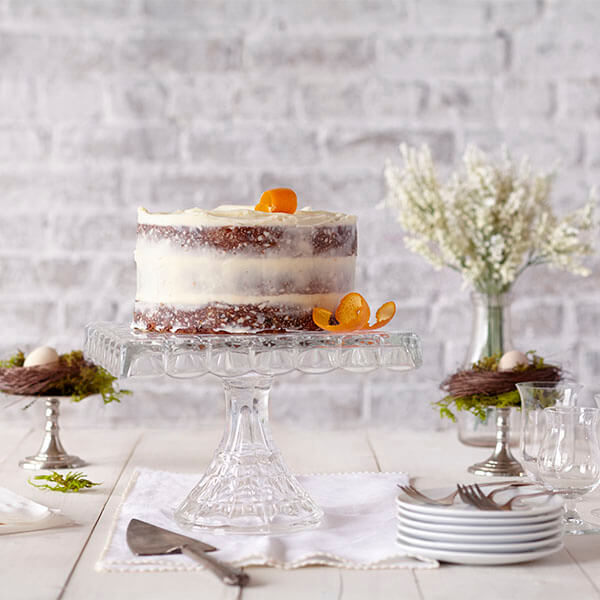 Carrot Cake with Buttery Cream Cheese Frosting
