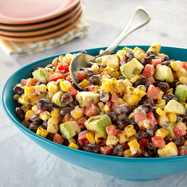 Grilled Mexican Corn Salad image