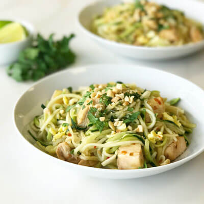 Pad Thai with Zoodles
