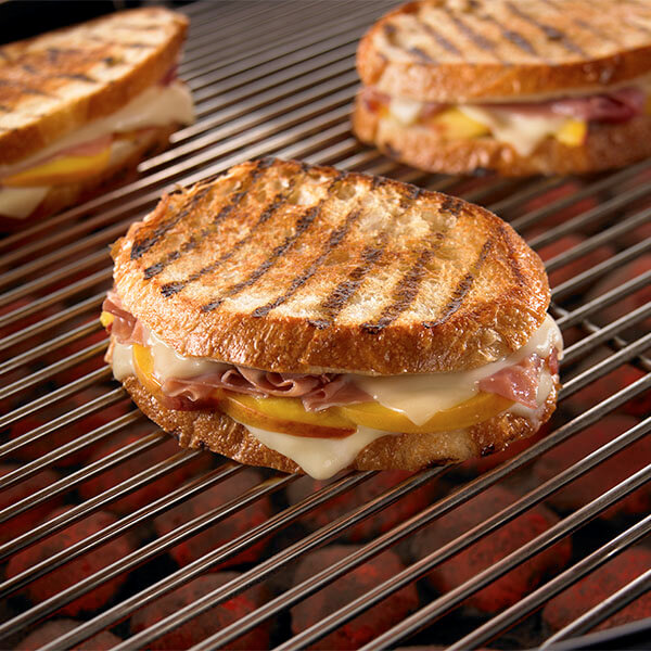 Peach & Prosciutto Grilled Cheese Image