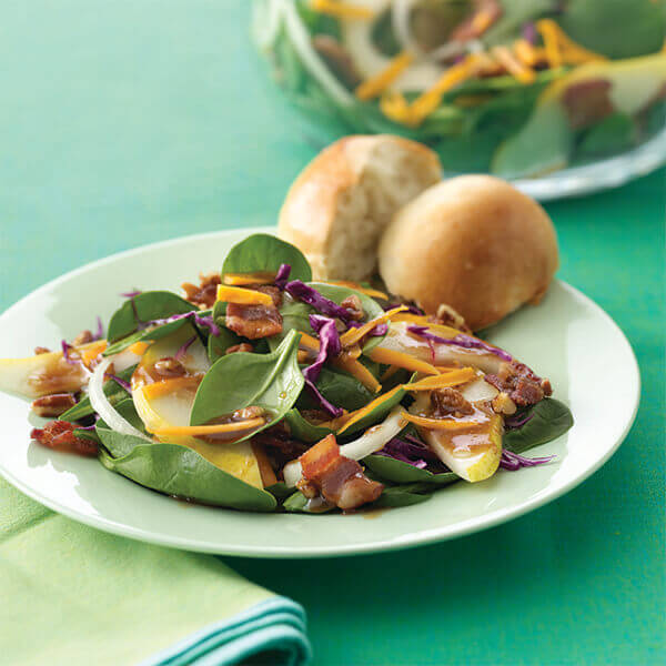 Autumn Salad With Maple Balsamic Dressing Image