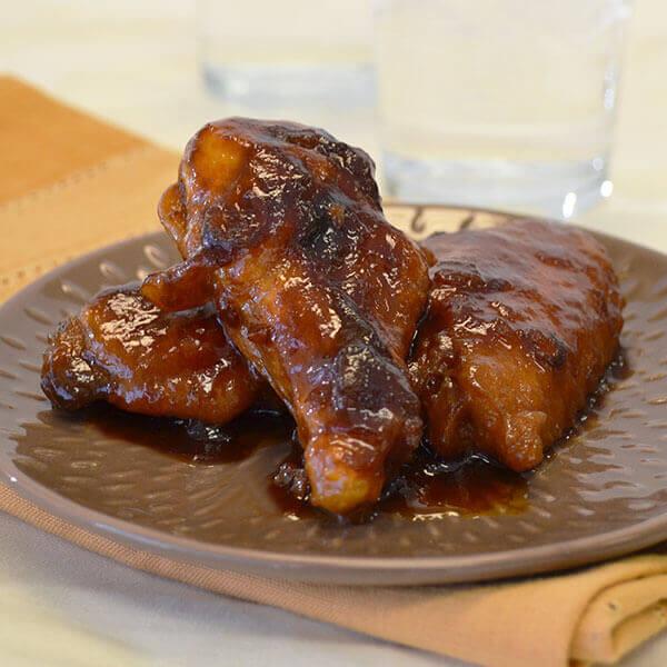 Glazed Chicken Drummies Recipes