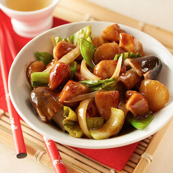 Asian Bok Choy Stir-Fry Image
